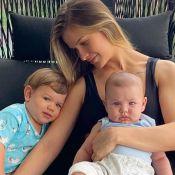 Gusttavo Lima se declara à Andressa Suita em foto com os filhos: 'Muito orgulho'