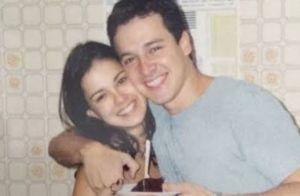 Vera Viel lembra 1° beijo em Rodrigo Faro com foto antiga do casal: 'Perfeito'