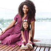 Juliana Alves combina look com a filha, Yolanda: 'Realidade mais linda'. Fotos!