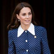 Queremos o vestido de bolinha que a Kate Middleton repetiu em evento oficial!