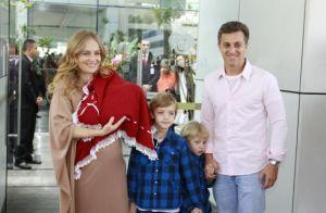 Angélica enfrentou dificuldade nas gestações dos três filhos: 'Útero reativo'
