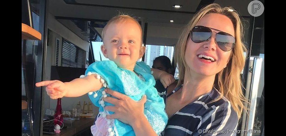 Eliana deu apelido carinhoso para a filha, Manuela, por personalidade: 'Pedrita'