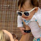 Dom, filho de Wesley Safadão e Thyane Dantas, encanta ao balbuciar 'mamãe'. Veja