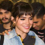 Bruna Marquezine entrega delineado fake: 'Devido à minha falta de habilidade'