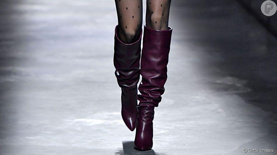 Botas longas de volta à moda
