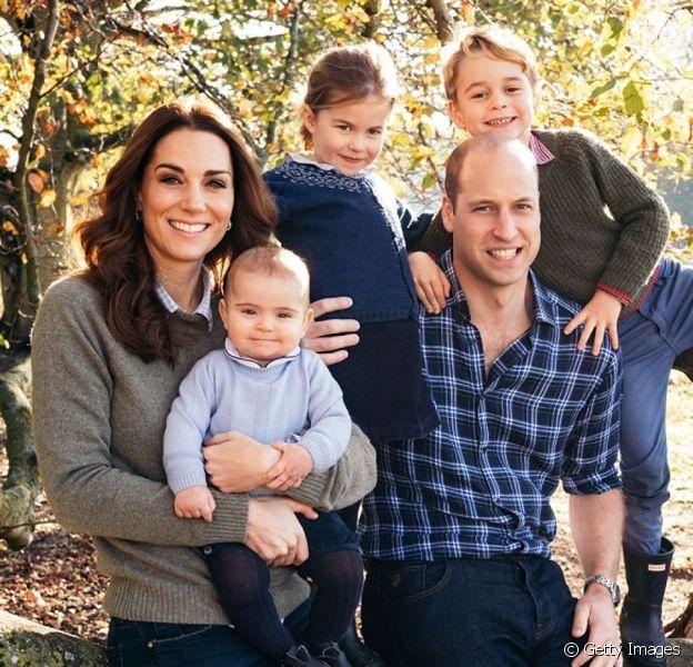 Príncipe William entregou o apelido da filha, Charlotte, de 4 anos, durante passeio em família