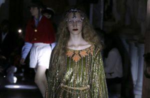 As trends do desfile da Gucci em Roma vão muito além da moda