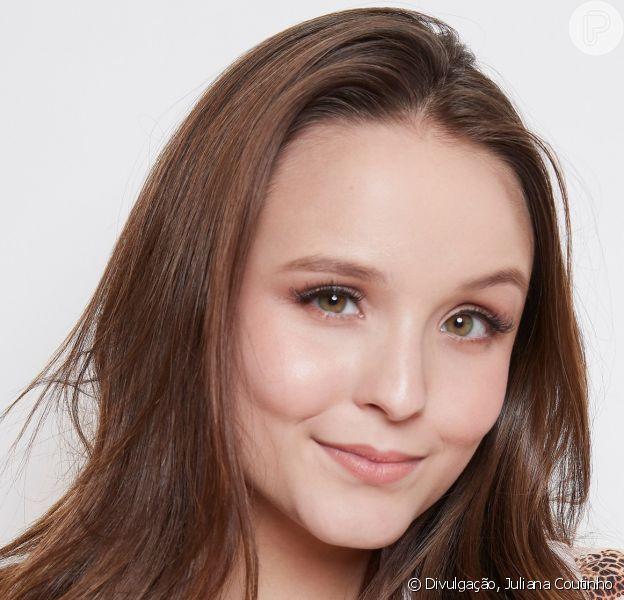 Estrela do time de L'Oréal Paris, Larissa Manoela comemorou o novo trabalho nesta quarta-feira, 29 de maio de 2019