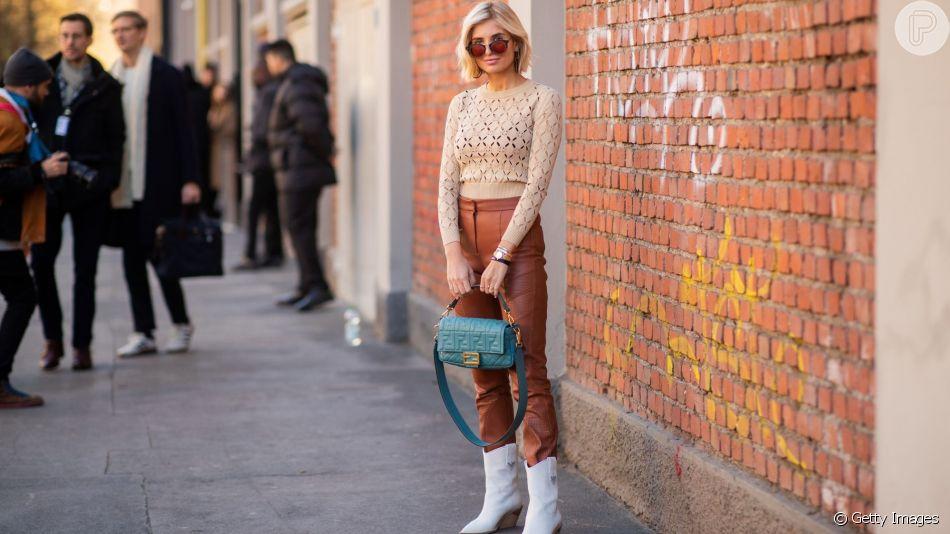Inspire-se em looks modernos com casaco de tricô!