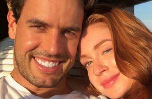 No paraíso! Marido filma Marina Ruy Barbosa de biquíni e elogia: 'Uma sereia'
