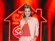 Camila Queiroz adere mood sporty rosinha e sombra roxa em look estiloso