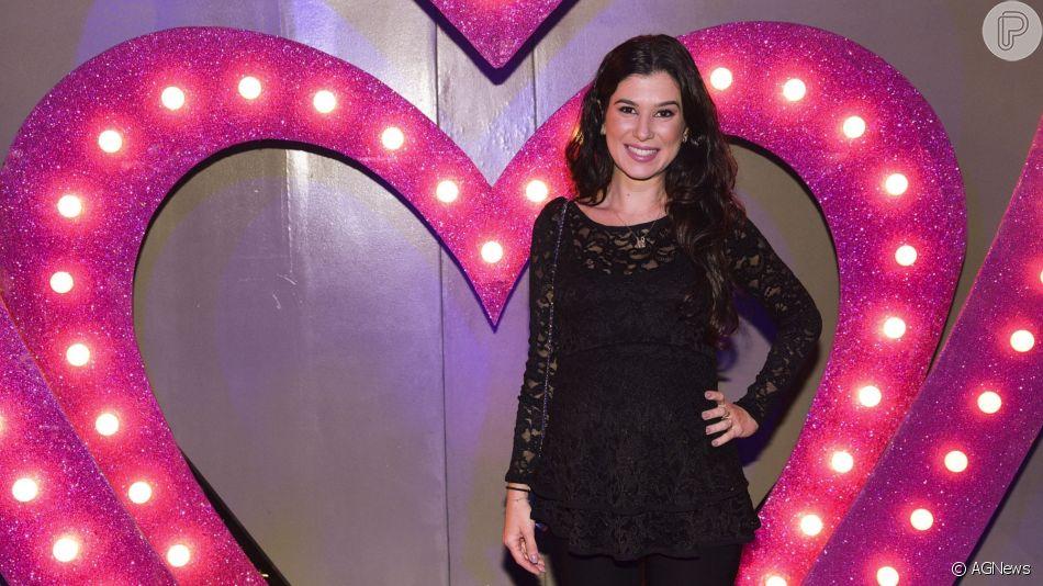 Filha de Silvio Santos, Renata Abravanel está grávida pela segunda vez: 'Nina vai ganhar irmãozinho!'