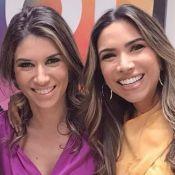 Patricia Abravanel e irmã Rebeca impressionam por semelhança em foto: 'Gêmeas'