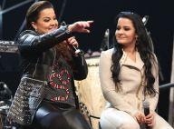 Afinidade fashion! Maiara e Maraisa combinam peças nudes em look de show