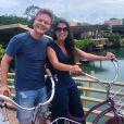 Thais Fersoza e o marido, Michel Teló, estão curtindo férias românticas pelo México