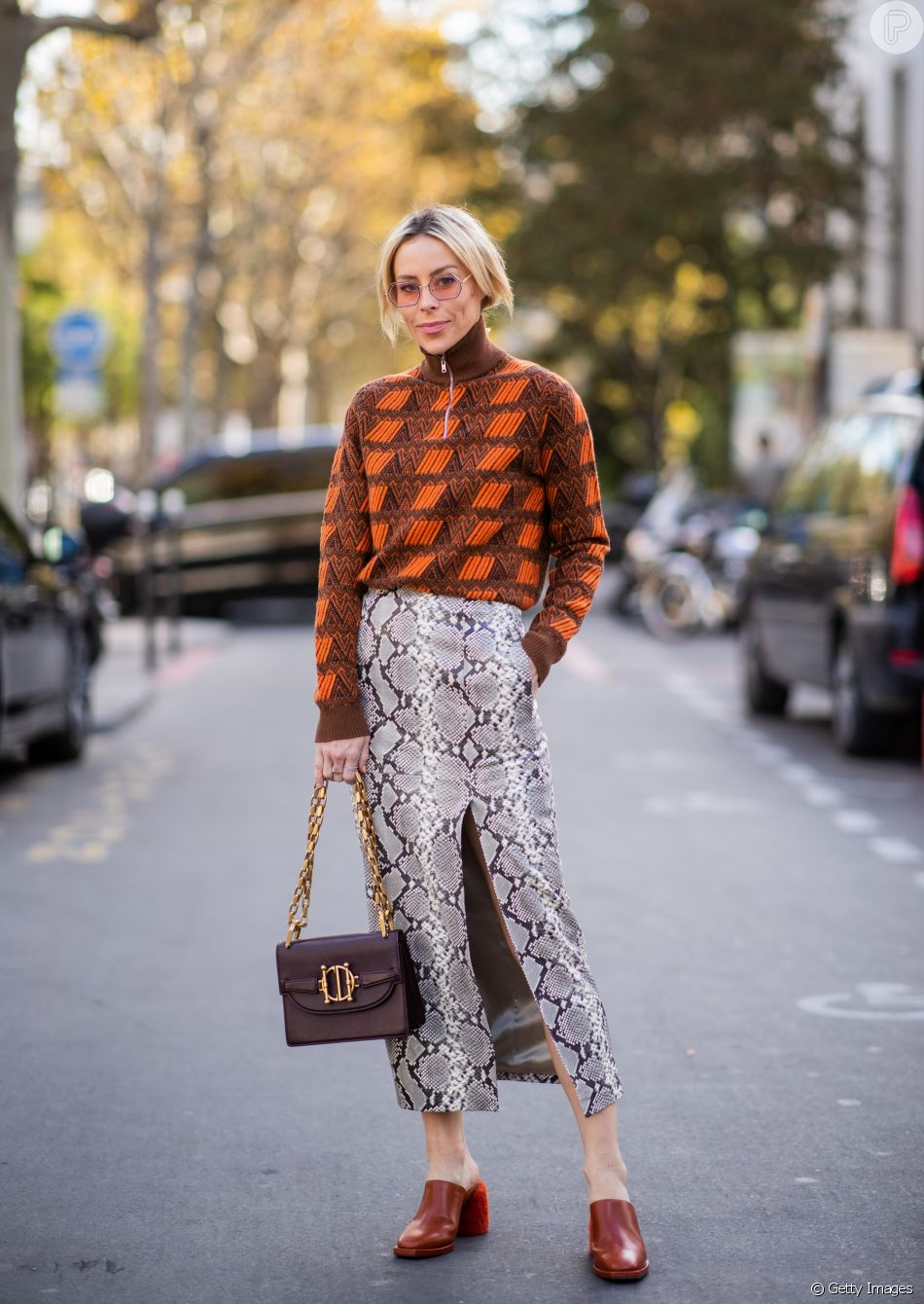 Tons terrosos, animal print e mule com salto são algumas das principais tendências de moda do inverno 2019