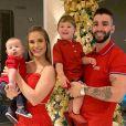 Andressa Suita e Gusttavo Lima são pais de Gabriel, de 2 anos, e Samuel, de 11 meses