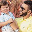 Filho mais velho de Andressa Suita e Gusttavo Lima, Gabriel ganhou homenagem da mãe pelo seu aniversário de 2 anos, nesta sexta-feira, 28 de junho de 2019: 'Parabéns, que Deus te abençoe sempre!'