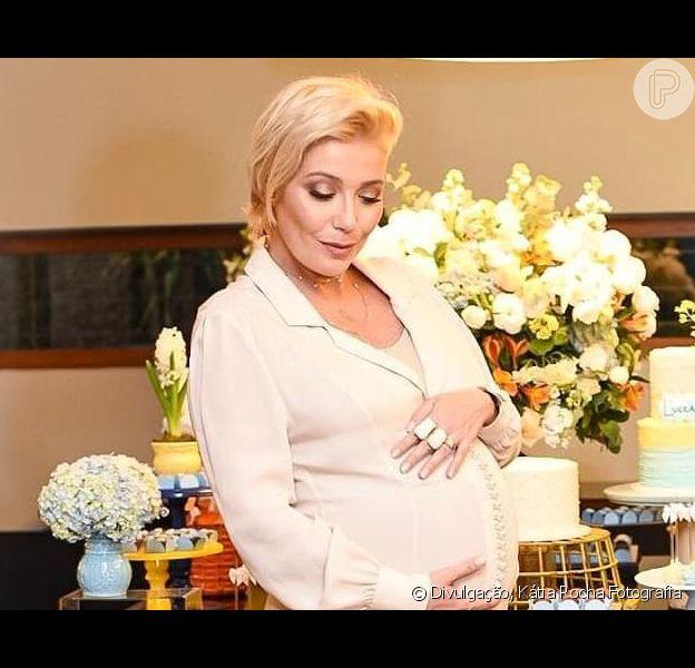 Luiza Possi dá à luz primeiro filho, Lucca, em 29 de junho de 2019