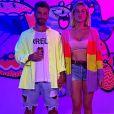 Giovanna Ewbank e Bruno Gagliasso mostraram que são um casal fashionista ao escolherem bermuda e short jeans.