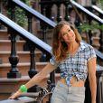 High heels: Sarah Jessica Parker de jeans + cropped