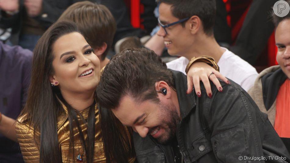 Maiara caiu em pegadinha do namorado, Fernando Zor, nesta quinta-feira, 4 de julho de 2019