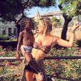 Giovanna Ewbank comemorou a viagem: 'Levar a família toda para conhecer o continente da minha filha, a África, é inexplicável!'