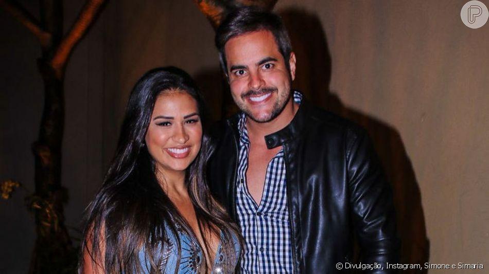 Dupla de Simaria, Simone releva opinião do marido sobre look da cantora neste domingo, dia 07 de julho de 2019