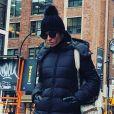 ' Para um look mais prático, pochete! Para os dias mais gelados, gorros e botas', disse  Giovanna Antonelli