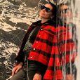 Giovanna Antonelli usa bota com forro de pelo em look de inverno