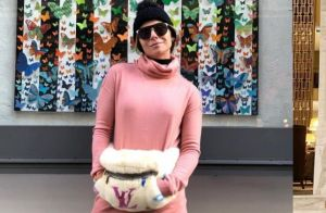 Jeans, acessórios e pouca make: o estilo inspirador de Gio Antonelli no inverno