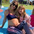 Rafaella Justus foi carinhosa com mãe, Ticiane Pinheiro, durante gravidez da apresentadora