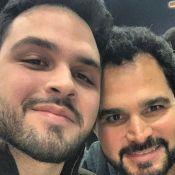 Luciano Camargo impressiona por semelhança com filho em foto: 'Parecem irmãos'