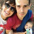 Isabel Hickmann é mãe de Francisco, fruto da relação com  Arlindo Conde Neto