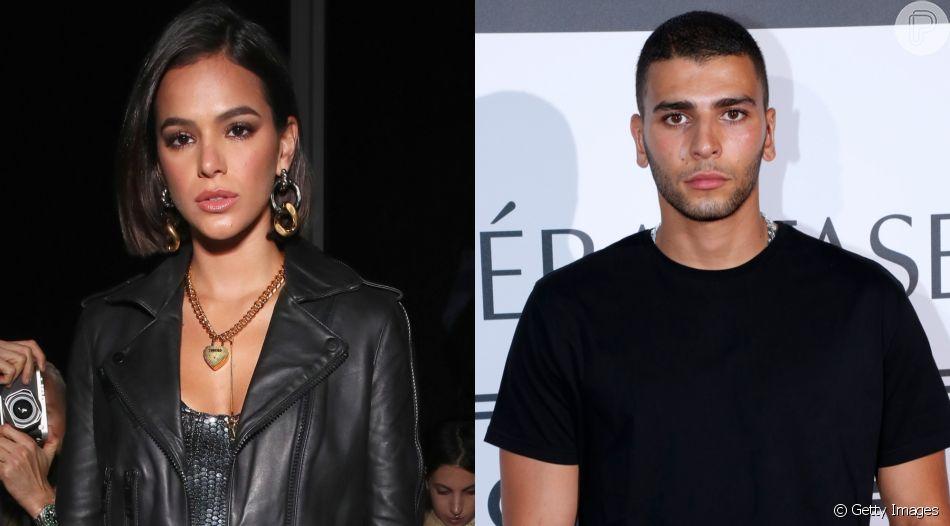 Após flagra com Bruna Marquezine, modelo Younes Bendjima deixa Instagram privado nesta terça-feira, dia 16 de julho de 2019