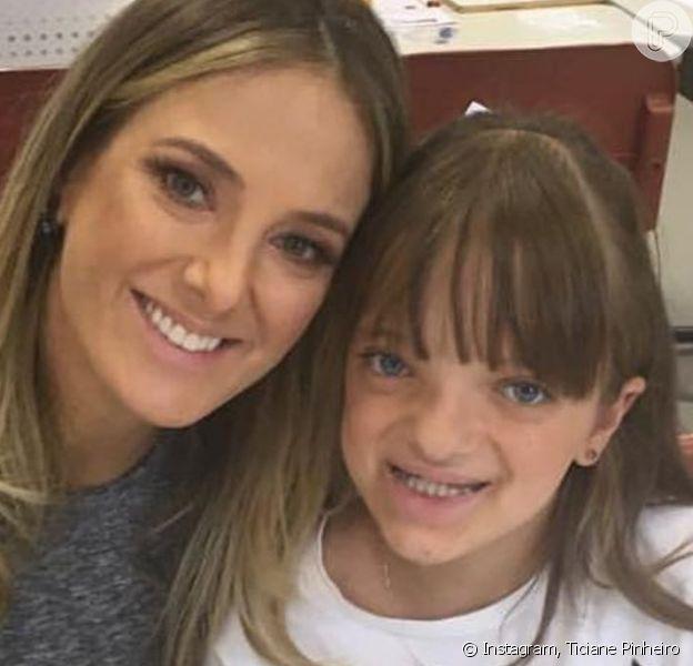 Rafaella Justus ganhou festa de 10 anos antecipada da mãe, Ticiane Pinheiro, nesta quarta-feira, 17 de julho de 2019