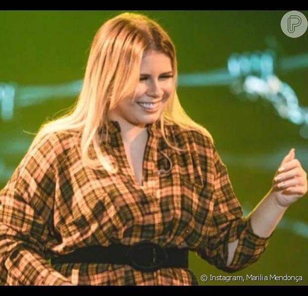 Marilia Mendonça pede ajuda na web diante de sintoma de gravidez. Veja vídeo postado nesta sexta-feira, dia 19 de julho de 2019