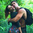 Mariana Goldfarb fez trilha com o marido, Cauã Reymond, na Costa Rica