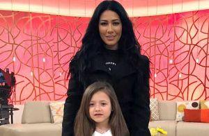 Simaria comemora 7 anos da filha, Giovanna, e faz festa com tema Moana. Vídeo!