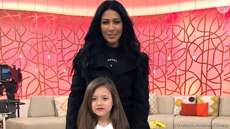 Simaria faz festa de sete anos para a filha, Giovanna