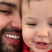 Pequeno 'Embaixador'! Gusttavo Lima faz dueto com filho Samuel:'Cantor do papai'