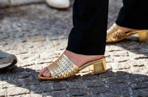 Muito ouro! Acessórios dourados são hit na moda verão