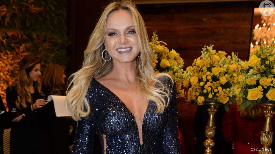 Eliana aparece maquiada como caveira em festa de aniversário do filho, Arthur, em 11 de agosto de 2019