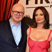 Luiza Brunet fala de romance com o bilionário Lírio Parisotto: 'Feliz com ele'