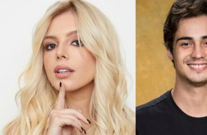 Giovanna Lancellotti nega romance com Danilo Mesquita após beijo no ator