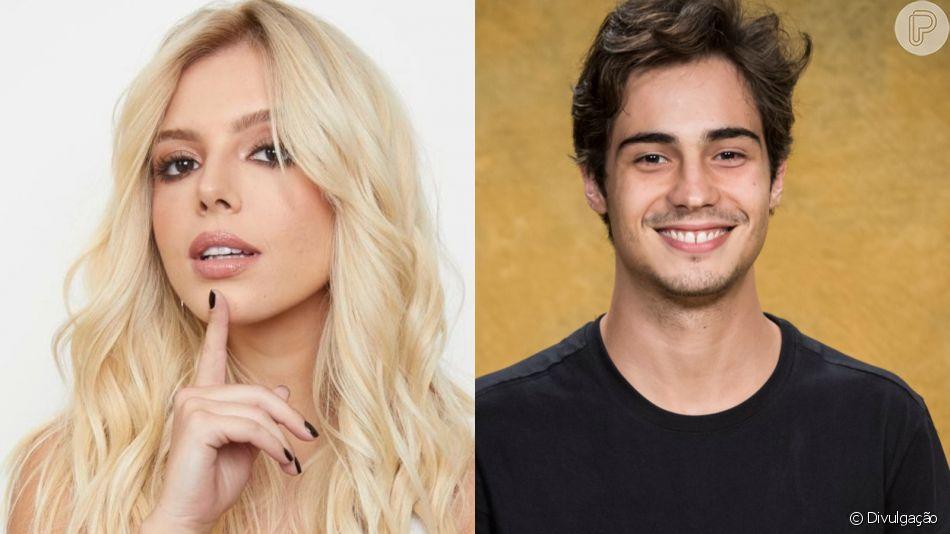 Giovanna Lancellotti nega romance com Danilo Mesquita após flagra de beijo