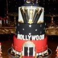 Pepê e Neném tiram bolo de Hollywood de 3 andares em festa de R$ 150 mil nesta terça-feira, dia 13 de agosto de 2019