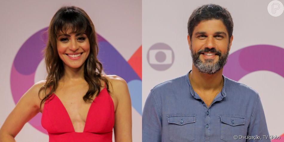Carol Castro e Bruno Cabrerizo engatam romance