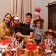 Filho caçula de Wesley Safadão e Thyane Dantas, Dom ganhou festa temática para comemorar seus 11 meses