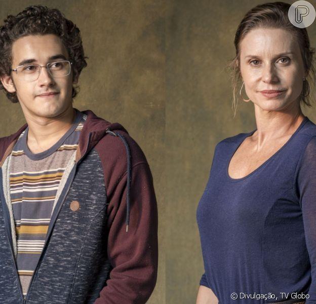 Na novela 'Órfãos da Terra', Benjamin (Felipe Bragança) perde a virgindade com Letícia (Paula Burlamaqui) nos próximos capítulos